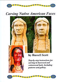 Carving the Native American Face Book - $12.00